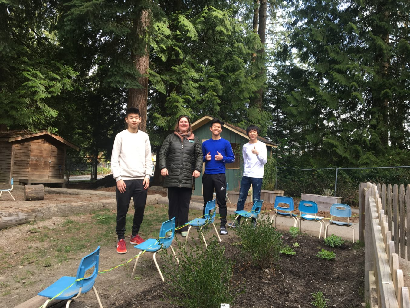 Pacific Spirit Childcare Centre March 2018 Pollinator Garden