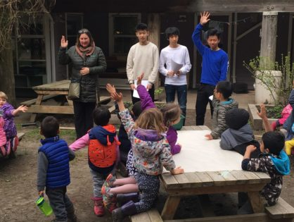 Pacific Spirit Childcare Centre Hangs Out with Us!