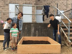 Garden Construction at Early Learning Childcare Centre