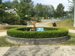 Pollinator Garden at Heritage Woods Secondary - A Collaboration with the City of Port Coquitlam